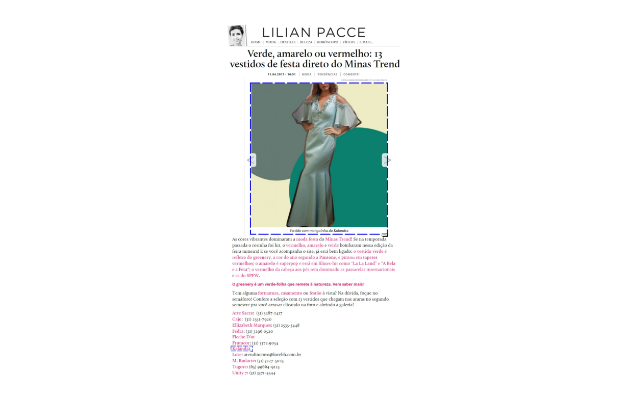 Lilian Pacce 11/04/2017